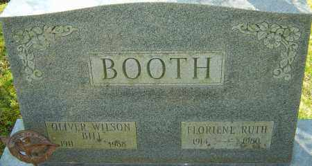 BOOTH, FLORIENE RUTH - Franklin County, Ohio | FLORIENE RUTH BOOTH - Ohio Gravestone Photos