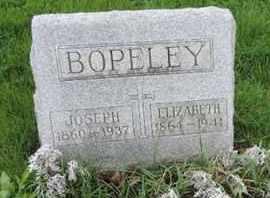 BOPELEY, JOSEPH - Franklin County, Ohio | JOSEPH BOPELEY - Ohio Gravestone Photos