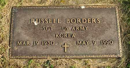 BORDERS, RUSSELL - Franklin County, Ohio | RUSSELL BORDERS - Ohio Gravestone Photos