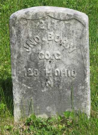 BORN, JNO. - Franklin County, Ohio | JNO. BORN - Ohio Gravestone Photos