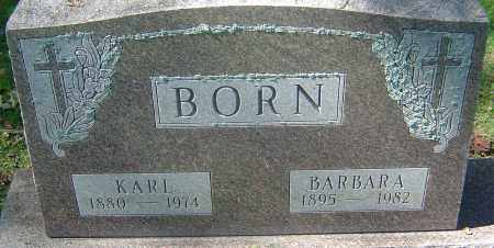 BORN, KARL - Franklin County, Ohio | KARL BORN - Ohio Gravestone Photos