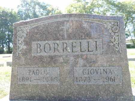 BORRELLI, PAOLO - Franklin County, Ohio | PAOLO BORRELLI - Ohio Gravestone Photos