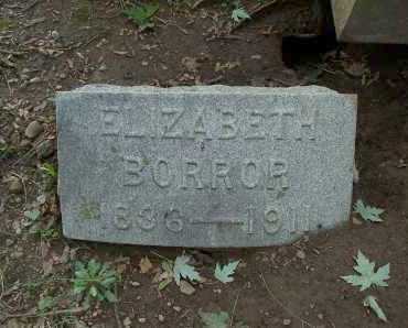 WATTS BORROR, ELIZABETH - Franklin County, Ohio | ELIZABETH WATTS BORROR - Ohio Gravestone Photos