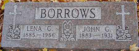 BORROWS, JOHN G - Franklin County, Ohio | JOHN G BORROWS - Ohio Gravestone Photos