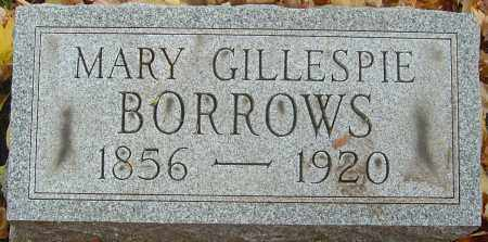 BORROWS, MARY - Franklin County, Ohio | MARY BORROWS - Ohio Gravestone Photos