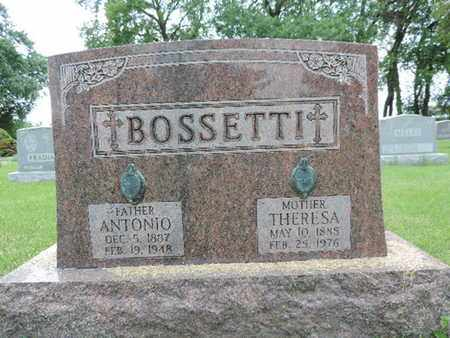 BOSSETTI, THERESA - Franklin County, Ohio | THERESA BOSSETTI - Ohio Gravestone Photos