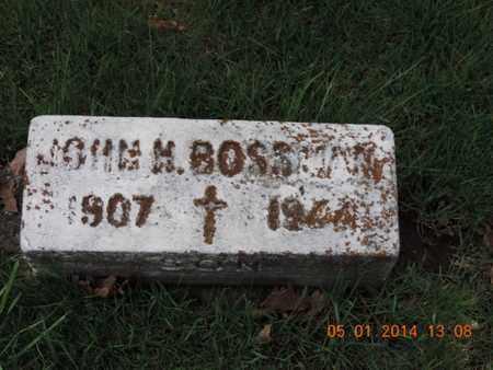 BOSSMAN, JOHN M - Franklin County, Ohio | JOHN M BOSSMAN - Ohio Gravestone Photos