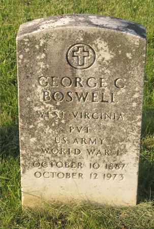 BOSWELL, GEORGE C. - Franklin County, Ohio | GEORGE C. BOSWELL - Ohio Gravestone Photos