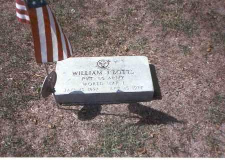 BOTTS, WILLIAM - Franklin County, Ohio | WILLIAM BOTTS - Ohio Gravestone Photos