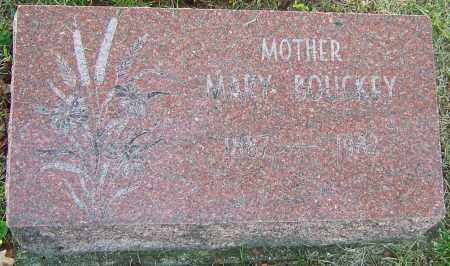 BOUCKEY, MARY - Franklin County, Ohio | MARY BOUCKEY - Ohio Gravestone Photos