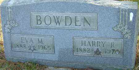BOWDEN, HARRY R - Franklin County, Ohio | HARRY R BOWDEN - Ohio Gravestone Photos