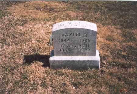 BOWEN, SAMUEL D. - Franklin County, Ohio | SAMUEL D. BOWEN - Ohio Gravestone Photos