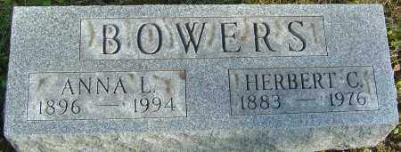 BOWERS, ANNA L - Franklin County, Ohio | ANNA L BOWERS - Ohio Gravestone Photos