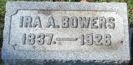 BOWERS, IRA A - Franklin County, Ohio | IRA A BOWERS - Ohio Gravestone Photos