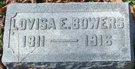 BOWERS, LOVISA E - Franklin County, Ohio | LOVISA E BOWERS - Ohio Gravestone Photos