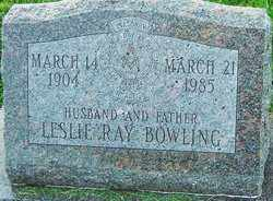 BOWLING, LESLIE RAY - Franklin County, Ohio | LESLIE RAY BOWLING - Ohio Gravestone Photos