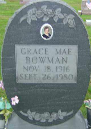 BOWMAN, GRACE MAE - Franklin County, Ohio | GRACE MAE BOWMAN - Ohio Gravestone Photos