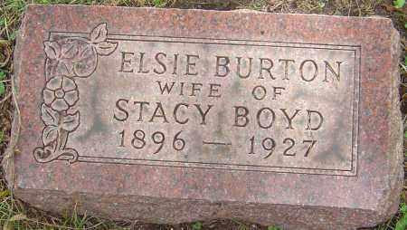 BURTON BOYD, ELSIE - Franklin County, Ohio | ELSIE BURTON BOYD - Ohio Gravestone Photos
