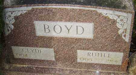 BOYD, RUTH E - Franklin County, Ohio | RUTH E BOYD - Ohio Gravestone Photos