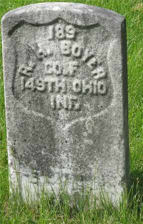BOYER, R.H. - Franklin County, Ohio | R.H. BOYER - Ohio Gravestone Photos