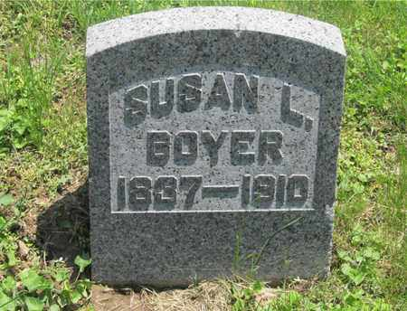 BOYER, SUSAN L. - Franklin County, Ohio | SUSAN L. BOYER - Ohio Gravestone Photos