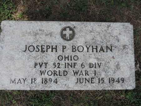 BOYHAN, JOSEPH P - Franklin County, Ohio | JOSEPH P BOYHAN - Ohio Gravestone Photos