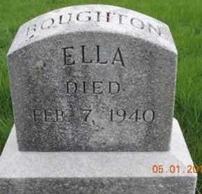 BQUGHTON, ELLA - Franklin County, Ohio | ELLA BQUGHTON - Ohio Gravestone Photos