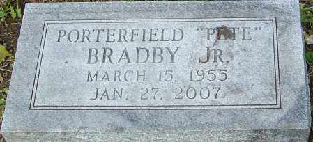 BRADBY, PORTERFIELD - Franklin County, Ohio | PORTERFIELD BRADBY - Ohio Gravestone Photos