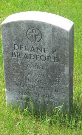 BRADFORD, DELANE P. - Franklin County, Ohio | DELANE P. BRADFORD - Ohio Gravestone Photos