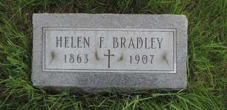 BRADLEY, HELEN F. - Franklin County, Ohio | HELEN F. BRADLEY - Ohio Gravestone Photos