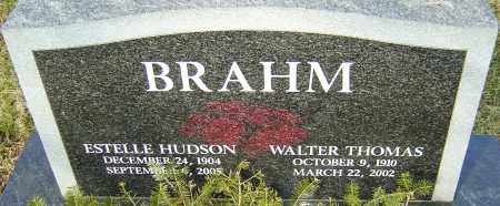 HUDSON BRAHM, ESTELLE - Franklin County, Ohio | ESTELLE HUDSON BRAHM - Ohio Gravestone Photos