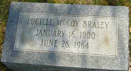 MCCOY BRALEY, LUCILLE - Franklin County, Ohio | LUCILLE MCCOY BRALEY - Ohio Gravestone Photos