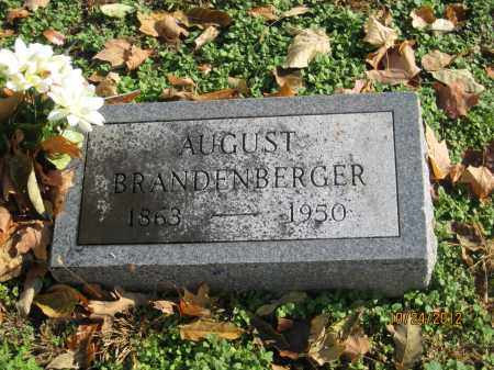 BRANDENBERGER, AUGUST - Franklin County, Ohio | AUGUST BRANDENBERGER - Ohio Gravestone Photos