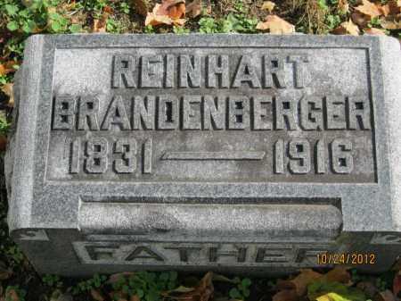 BRANDENBERGER, REINHART (REINHARD) - Franklin County, Ohio | REINHART (REINHARD) BRANDENBERGER - Ohio Gravestone Photos