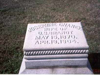 CHANEY BRANDT, JOSEPHINE - Franklin County, Ohio | JOSEPHINE CHANEY BRANDT - Ohio Gravestone Photos