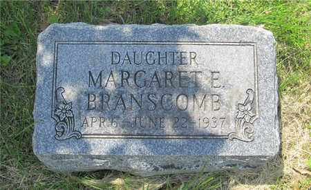 BRANSCOMB, MARGARET E. - Franklin County, Ohio | MARGARET E. BRANSCOMB - Ohio Gravestone Photos