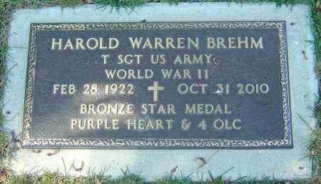 BREHM, HAROLD WARREN - Franklin County, Ohio | HAROLD WARREN BREHM - Ohio Gravestone Photos