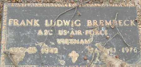 BREMBECK, FRANK LUDWIG - Franklin County, Ohio | FRANK LUDWIG BREMBECK - Ohio Gravestone Photos