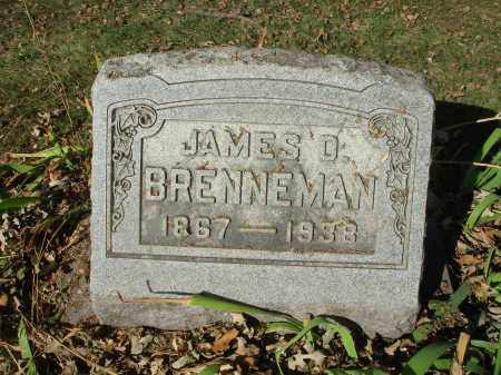 BRENNEMAN, JAMES D. - Franklin County, Ohio | JAMES D. BRENNEMAN - Ohio Gravestone Photos