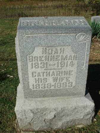 BRENNEMAN, CATHARINE - Franklin County, Ohio | CATHARINE BRENNEMAN - Ohio Gravestone Photos