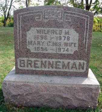 BRENNEMAN, WILDRED M. - Franklin County, Ohio | WILDRED M. BRENNEMAN - Ohio Gravestone Photos