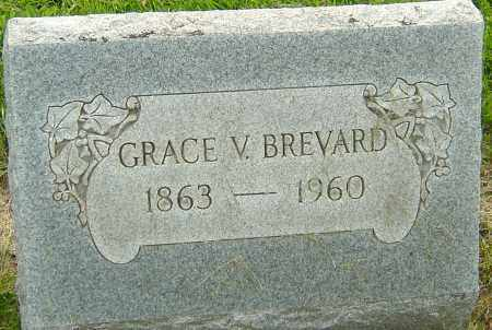 BREVARD, GRACE V - Franklin County, Ohio | GRACE V BREVARD - Ohio Gravestone Photos