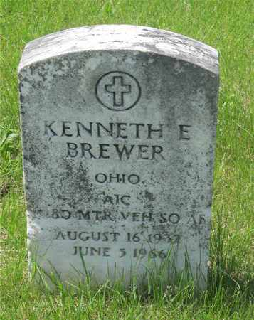 BREWER, KENNETH E. - Franklin County, Ohio | KENNETH E. BREWER - Ohio Gravestone Photos