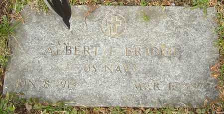 BRIDGE, ALBERT F - Franklin County, Ohio   ALBERT F BRIDGE - Ohio Gravestone Photos