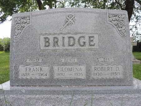 BRIDGE, FRANK - Franklin County, Ohio | FRANK BRIDGE - Ohio Gravestone Photos