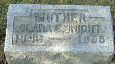 KEPLER BRIGHT, CLARA EDITH - Franklin County, Ohio | CLARA EDITH KEPLER BRIGHT - Ohio Gravestone Photos
