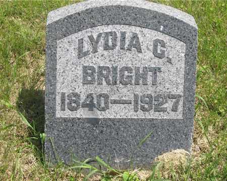 BRIGHT, LYDIA C. - Franklin County, Ohio | LYDIA C. BRIGHT - Ohio Gravestone Photos