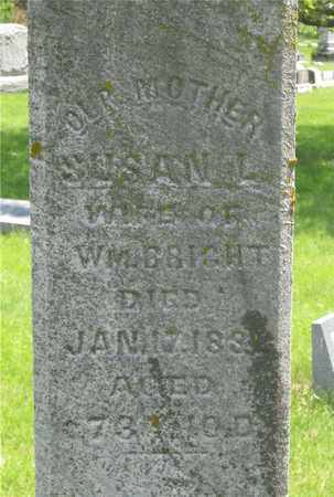 BRIGHT, SUSAN L. - Franklin County, Ohio | SUSAN L. BRIGHT - Ohio Gravestone Photos