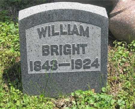 BRIGHT, WILLIAM - Franklin County, Ohio | WILLIAM BRIGHT - Ohio Gravestone Photos