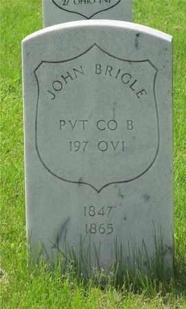 BRIGLE, JOHN - Franklin County, Ohio | JOHN BRIGLE - Ohio Gravestone Photos